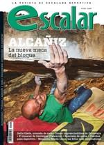 Portada de la revista Escalar nº 102. Especial Alcañiz. [NO USAR]