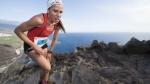 Vanesa Ortega en Kilómetro Vertical Transvulcania 2016 donde quedó tercera