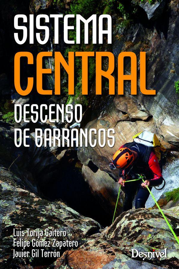 Portada de la guía de Barrancos: Sistema Central. Descenso de barrancos [WEB]
