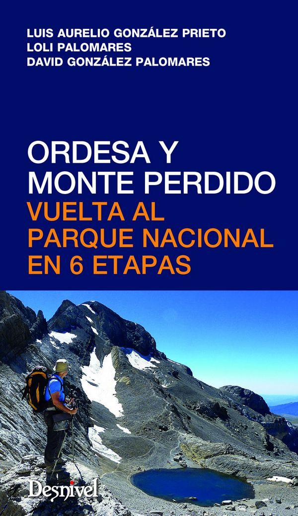 Portada de la guía de Ordesa y Monte Perdido. Vuelta al parque nacional en 6 etapas. [WEB]