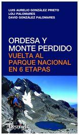 Portada de la guía de Ordesa y Monte Perdido. Vuelta al parque nacional en 6 etapas. [NO USAR]