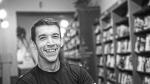 David Roncero en la presentación del libro 'Herramientas emocionales para correr ultra trails. Ultracoaching' en la Librería Desnivel. 2016