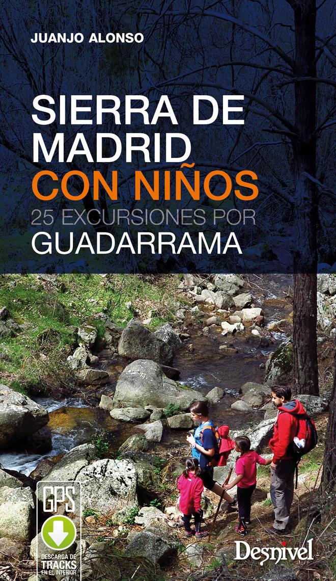 Portada del libro: Sierra de Madrid con niños. 25 excursiones por Guadarrama [WEB]