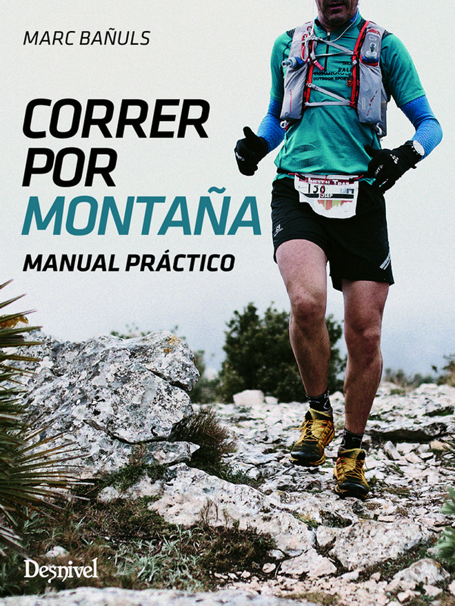 Portada del manual Correr por montaña de Marc Bañuls