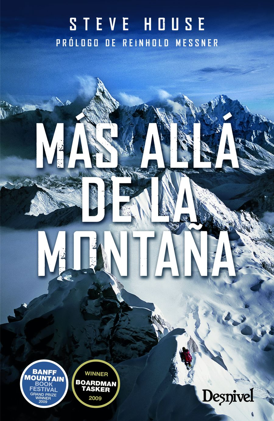 Portada del libro: Más allá de la montaña, por Steve House.