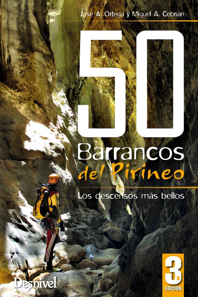 Portada de la nueva edición, revisada y actualizada de la guía de Barranco del Pirineo.