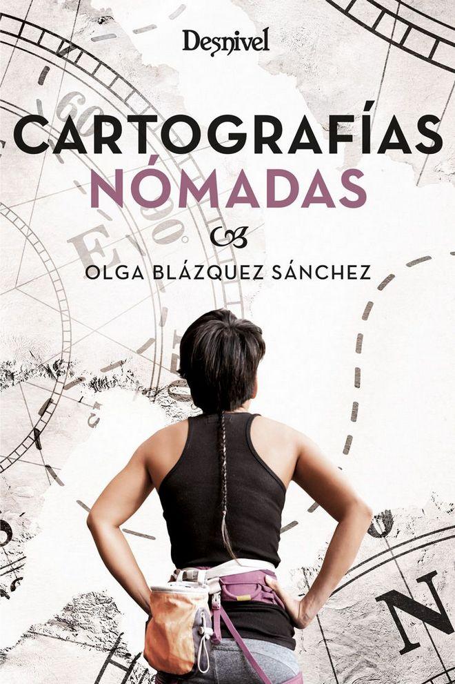 Portada del libro Cartografías nómadas de Olga Blázquez Sánchez