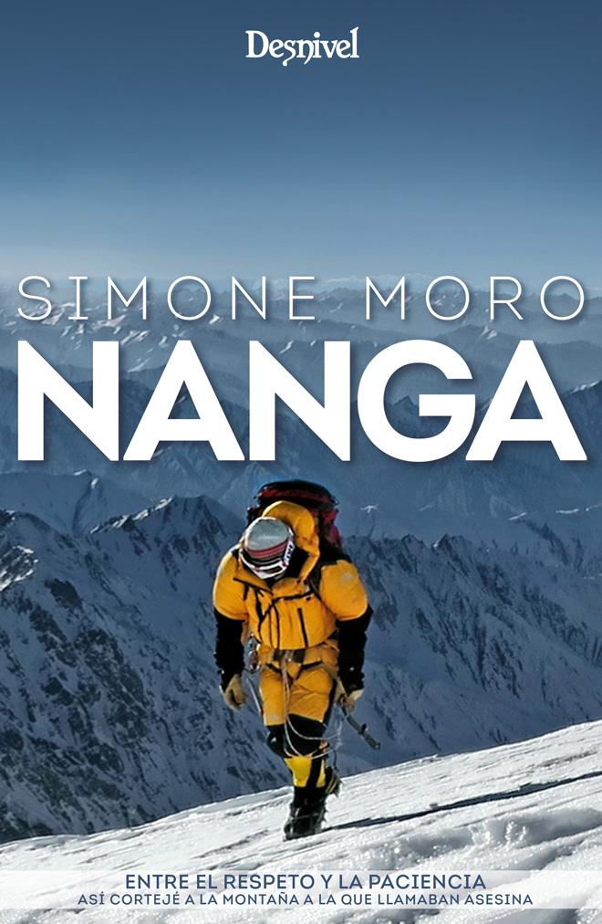 Portada del libro Nanga por Simone Moro.