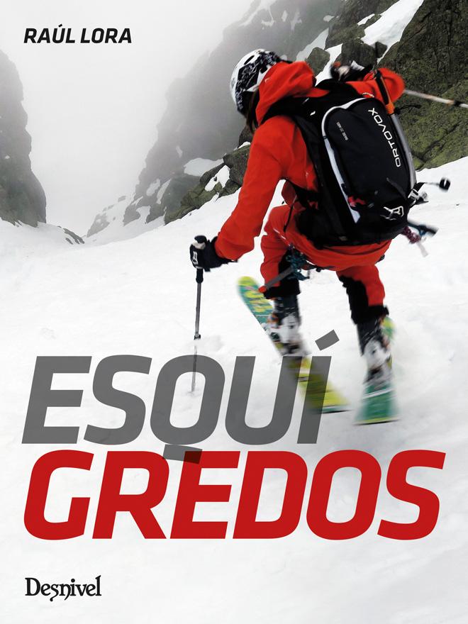 Portada del libro Esquí Gredos, por Raúl Lora.