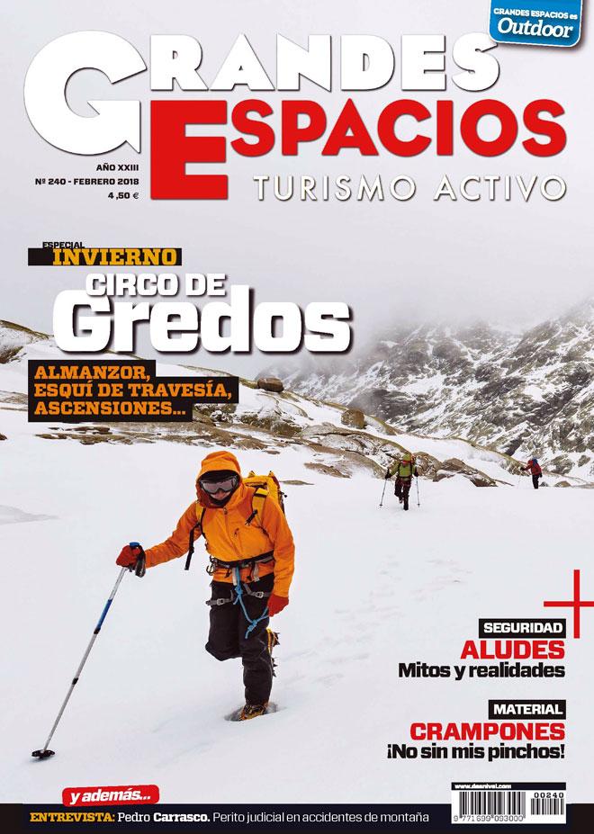 Portada de la revistas Grandes Espacios nº 240. Especial Circo de Gredos.