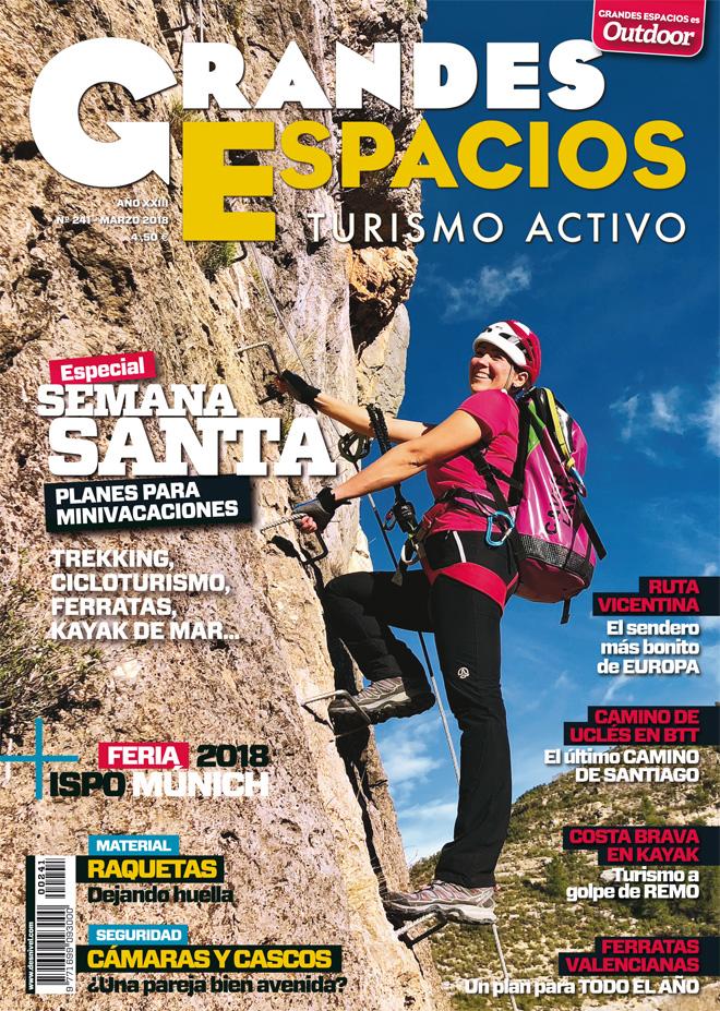 Portada de la revista Grandes Espacios nº 241. Especial Semana Santa 2018