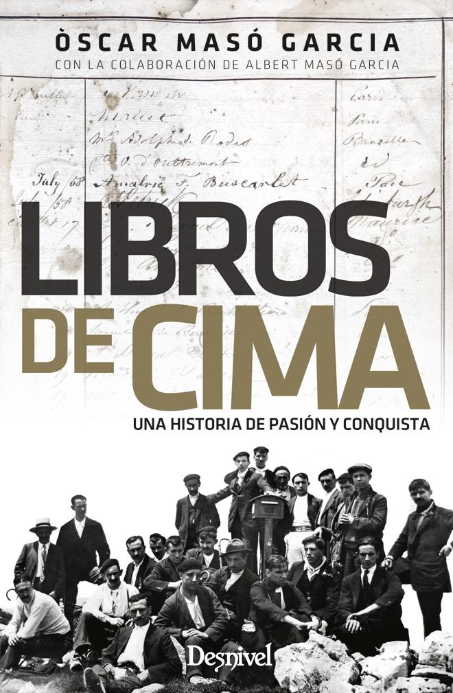 Portada de 'Libros de cima, una historia de pasión y conquista' por Òscar Masó García