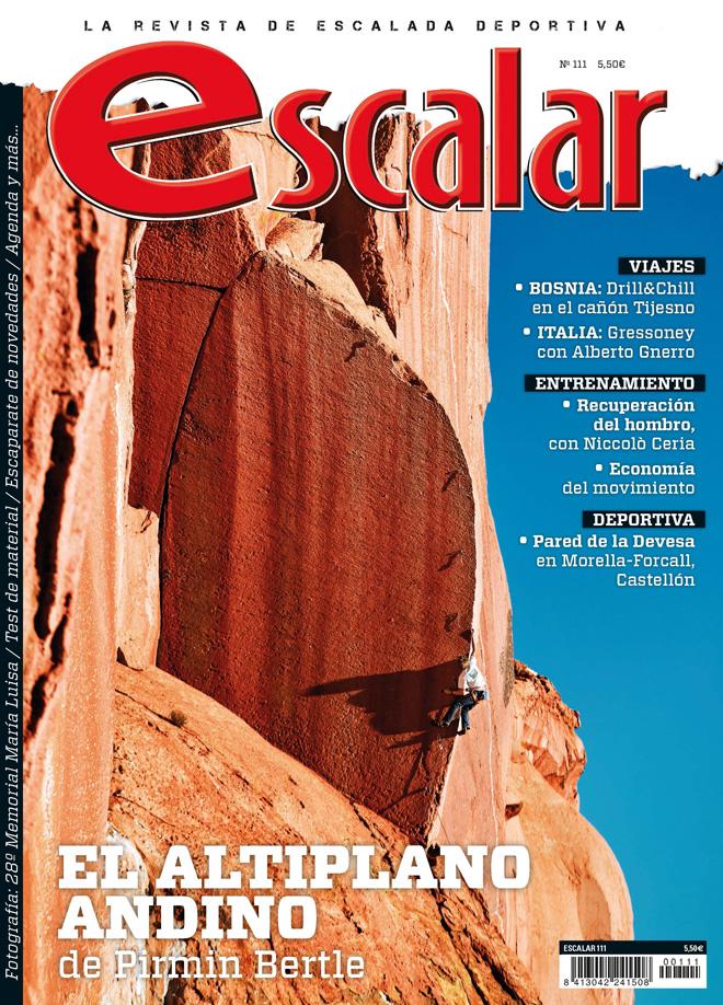 Portada de la revista Escalar nº 111. El altiplano andino.