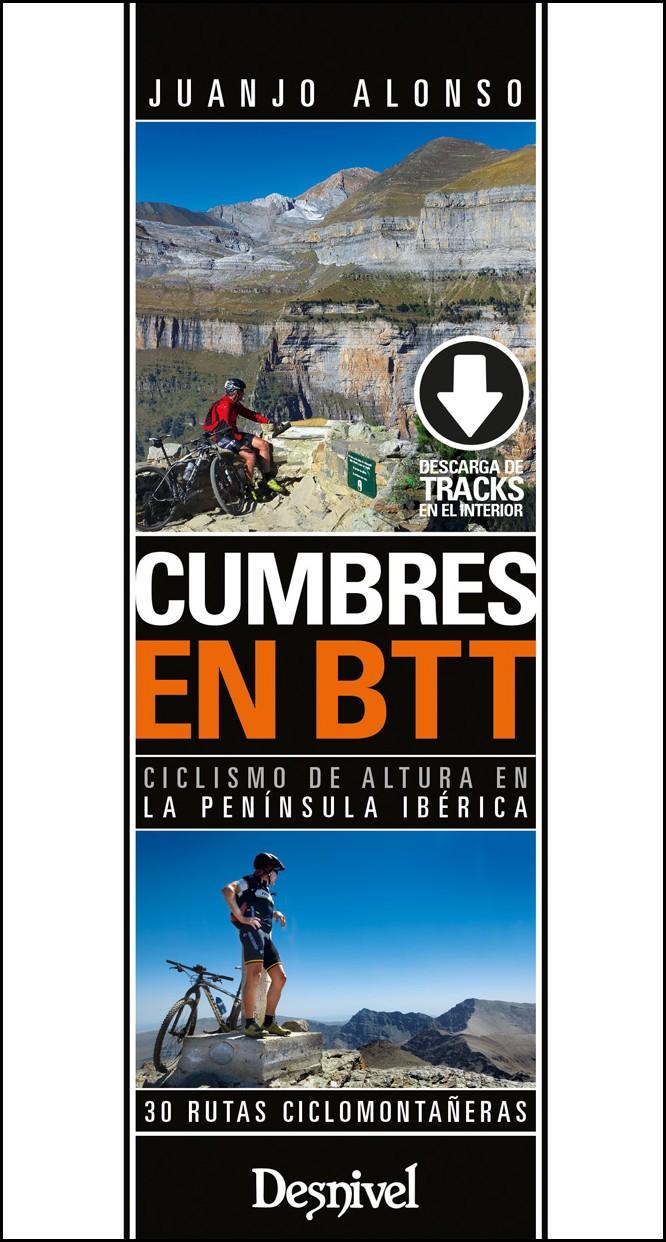 Portada de la guía Cumbres en BTT, por  Juanjo Alonso.